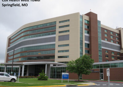 Cox Health West Tower, Springfield MO